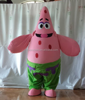 adult patrick star costume patrick star mascot costume