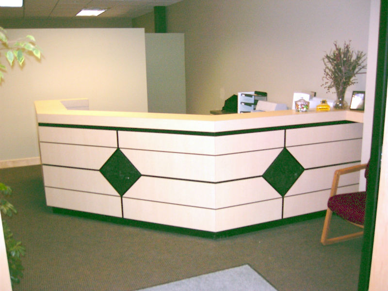 Curved White Reception Desk Modern Beauty Salon Furniture - Buy Modern