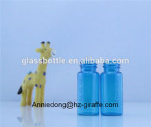 tubo 5ml 10ml 30ml100ml aceite de botella de vidrio con tapa de color blanco