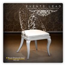Diamond Dining White Chair