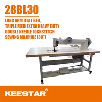 Keestar 28BL-30 advanced extra heavy duty industrial electric sewing machine