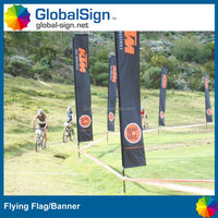 Portable Advertising Outdoor Feather Banner