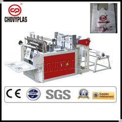 plastic bag sealing&cutting machine/hot sealing hot cutting bag making machine