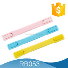 2015 China Wenzhou newest design/type trolley handle, new telescopic handle, good quality silicone for luggage