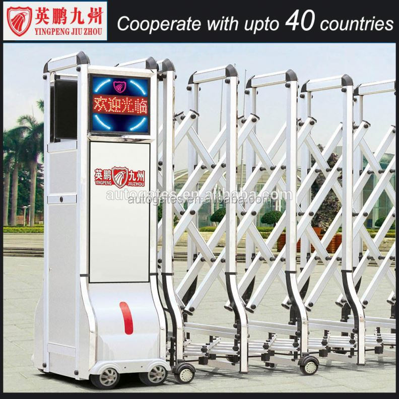 barrier retractable gate buy aluminum retractable gate