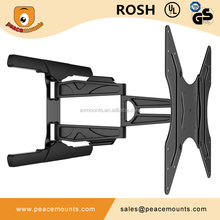 """PMS400-L Jor 2015 New Design Populare Selling Vesa 400x400 Aticulating Ultra Slim Cantilever wall mounts for monitor 48"""""""