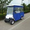 Chinese cheap and hight quality 4 seater golf cart with rain cover for sale