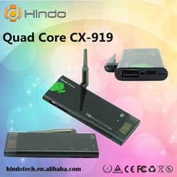 Quad Core RK3188 TV BOX Dongle 1080P mini PC CX919 Android 4.2 Bluethooth Wifi