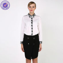 OEM garment factory from china and have a brand fashion clothes tops blouse shirt