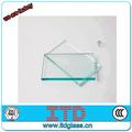 Precio de vidrio templado plano claro de 6 mm
