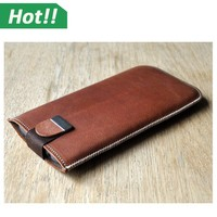 Business Hosting Phone Case PU Leather Matte Phone Pouch for LG G3