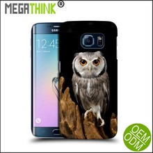 Custom Owl Design Silicone Phone Case for Samsung Galaxy S6 Edge S5 Note 4 3 Print cover
