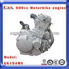 motor da motocicleta 600cc