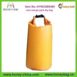 Orange Dry Bags Backpack Swimming Dry Bag Wholesale PVC Dry Bag 20L
