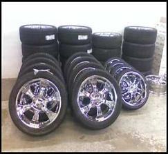 "Chevy Caprice Impala Ss 2wd Tahoe Truck 20"" Wheels Rims"