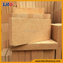 Big or Standard Size Refractory Fire Clay Brick Fireclay Thin Brick for Furnace and Baking Oven