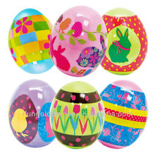 Wonderful Easter egg shrink wrap colorful design