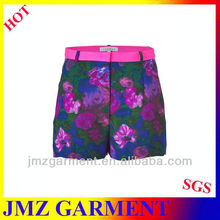 2012 ladies fashion casual short pants manufacturer