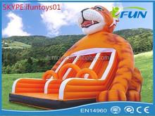 inflatable water slip slide / inflatabel water slide / inflatable tiger water slide