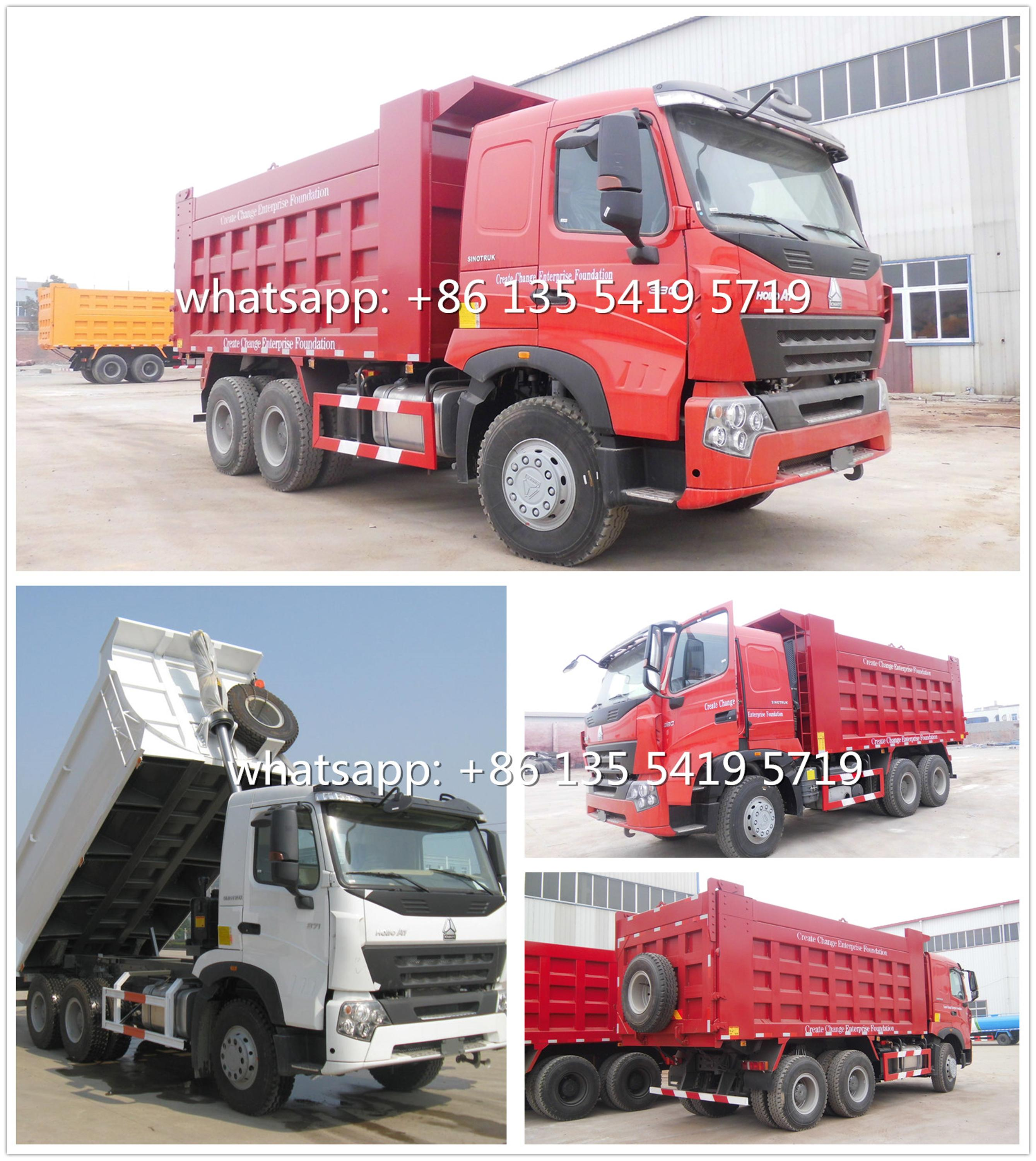 Sinotruk HOWO-A7 Dump Truck 10W - Philippines Buy and Sell