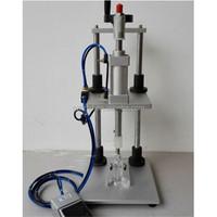 semi auto perfume collaring fitting/pneumatic perfume collaring machine