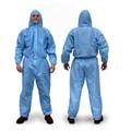 EN 13034 / EN ISO 13982-1 PPE desechable Ropa de trabajo general con capucha