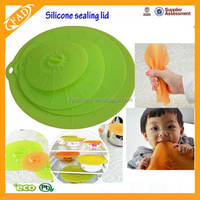 As Seen On TV Hot Selling Silicone Sealing Lids Silicone Pot Lid Keep Fresh Silicone Pot Cover Lid