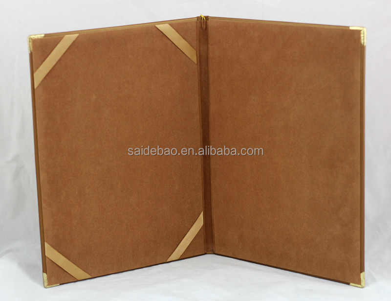 Promotional Custom Certificate Folder,A4 Certificate Holder/ Pu ...