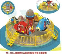 Castle shenzhou rocket amusement ride TX-203A /playground amusement equipment