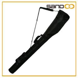 Sandoo alibaba china golf gun golf bag travel cover, black with pink lady golf bag