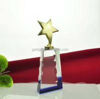Metal STAR TROPHY High -Grade business gifts