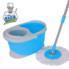 Mr. SIGA Easy Clean Magic Hurricane rotating 360 spin twist mop with Hurricane Spinning and shout Easy Twist Mop