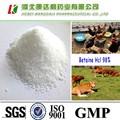 Buena calidad betaína clorhidrato de 98% de grado de alimentación para alimentación de aves de corral