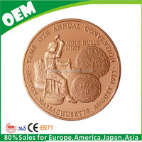 custom copper coin
