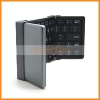 New Foldable Bluetooth Keyboard Aluminum Alloy Bluetooth Wireless Keyboard Apply To Tablet Smart Phone