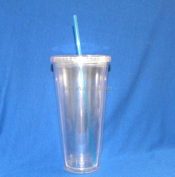 550ml double wall reusable plastic coffee cup