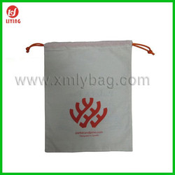 Promotional Newest Drawstring Cotton Dust Bag For Handbag