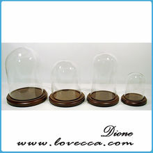 New arrival wholesale display Glass Dome, Glass Bell Jar,Glass Dome Cover