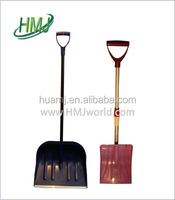 china tool square mouth double snow shovel