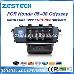 Touch screen car audio system for Honda Odyssey 05-08 car multimedia car dvd gps player system