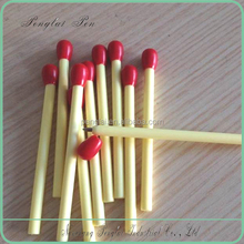 2015 8CM length plastic matchstick cheap short ballpoint pen 2015