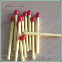 8CM length plastic matchstick cheap short ballpoint pen