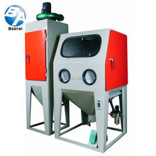 Environmental dustless manual sand blast machine suitable for a long time processing