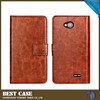 mobile phone leather case for huawei ascend p6