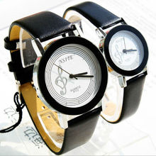 lovers swiss watch ,branded watches for couple, music watches genuine leather watch