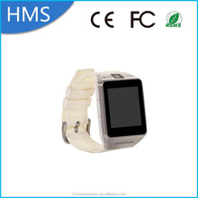 """Best selling 2015 1.54 """" white watch GV08 smart watch mobile phone price in pakistan"""