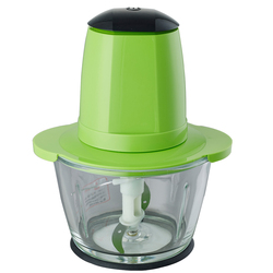 200W 1.2L glass bowl multifunctional electric food chopper