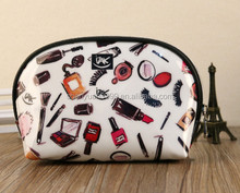High Quality Lady MakeUp Pouch Cosmetic Make Up Bag Clutch Hanging Toiletries Travel Bag