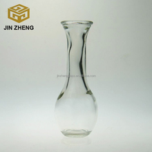 Wholesale clear glass material glass vase decoration