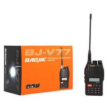 Hot sale HF 5W/4W Portable vhf/uhf fm Transceiver BJ-V77 hf transceiver